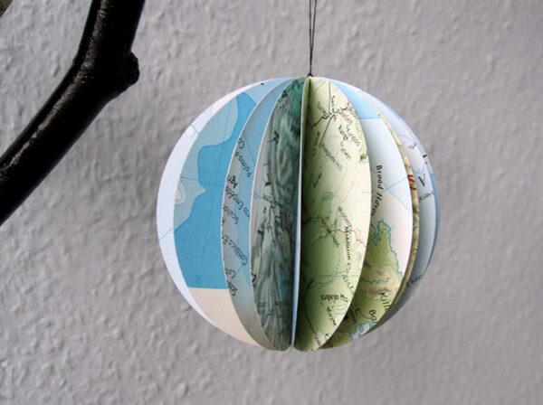 ATlas Kugel weltkugel globus aus altas weltkarte von renna deluxe