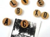 Buchstaben-Magneten-rund nach Wunsch von renna deluxe
