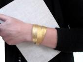 Gold Winkelband armband von renna deluxe