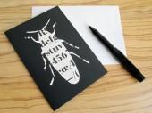 Käfer Klappkarte grusskarte von renna deluxe vintage papier
