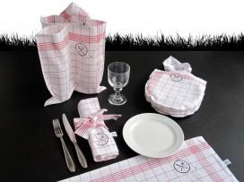 picknick im sommer, gesellen, Geschirr, Koffer, Picknickkoffer von renna deluxe