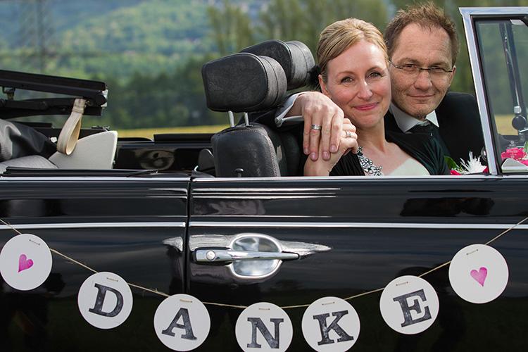 Danke Girlande zur Hochzeit von renna deluxe