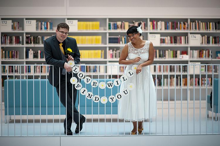 LOVE Hochzeitsgirlande