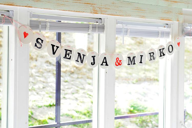 Hochzeitsgirlande individuell von renna deluxe