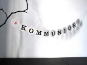 Konfirmation Kommunion deko girlande von renna deluxe
