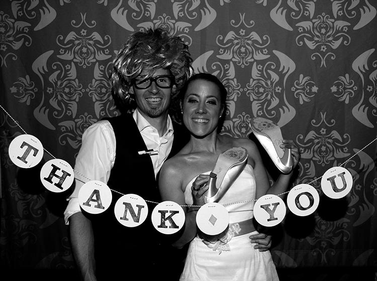 thank you garland renna deluxe wedding hochzeit girlande.