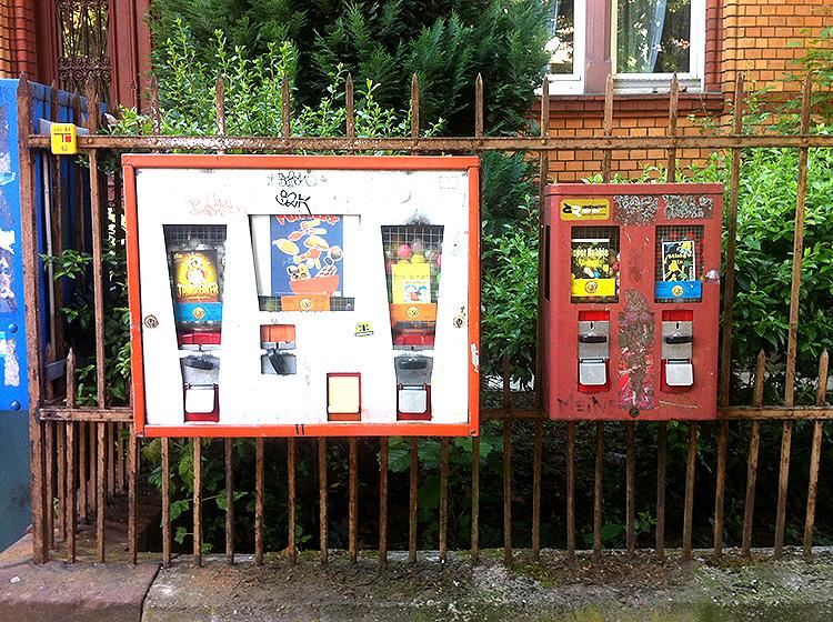 Kaugummiautomat chewing gum vending maschine