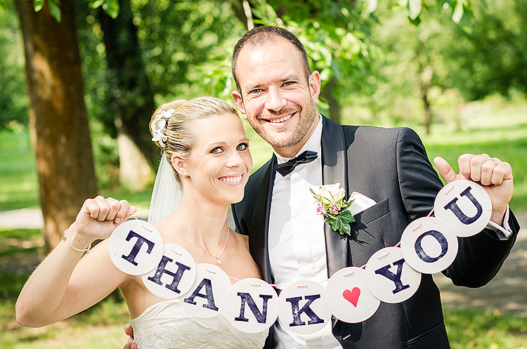 Thank you girlande danke girlande wedding hochzeit renna deluxe