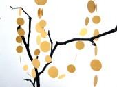 punkt kreise girlande gold dots garland gold renna deluxe