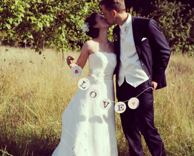 Love girlande garland renna deluxe wedding