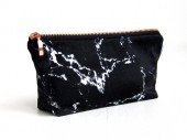 make-up bag marble pouch