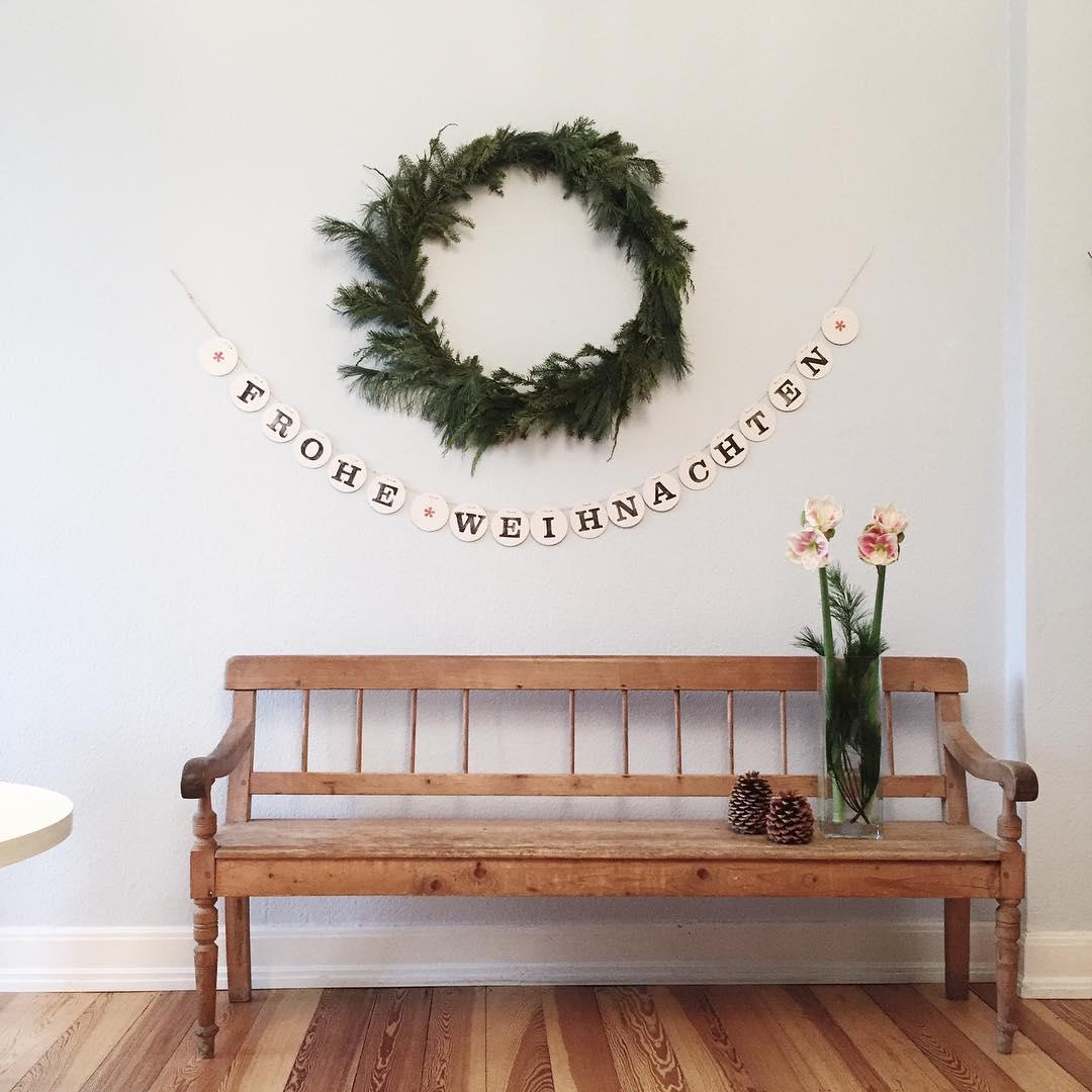 frohe weihnachten girlande buchstabengirlande renna deluxe