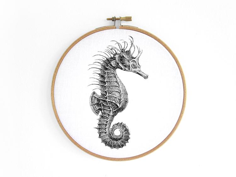 Seepferdchen-Hippocampus-seehorse-hoop-art-renna-deluxe-vintage